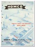 Houston Oil Field Material Company 1951 vintage catalog oilfield Homco