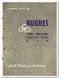 Hughes Tool Company 1951 vintage oil gas catalog oilfield rock bits