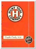 Hunt Tool Company 1951 vintage oil catalog oilfield drilling equipment