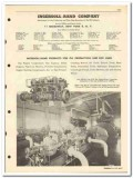 Ingersol-Rand Company 1951 vintage oil gas catalog pipe line equipment