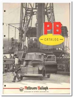 Byron Jackson Company 1951 vintage oil gas catalog Patterson-Ballagh