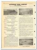 Patterson Steel Company 1951 vintage oil catalog oilfield buildings