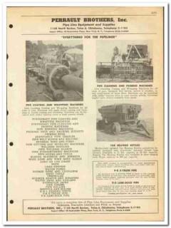 Perrault Brothers Inc 1951 vintage oil gas catalog oilfield pipe line