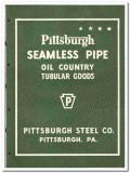 Pittsburgh Steel Company 1951 vintage oil gas catalog oilfield pipe