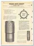 Howard Smith Company 1951 vintage oil catalog oilfield screen chokes