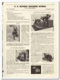 C A Mathey Machine Works 1944 vintage oil catalog oilfield measuring