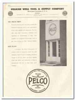Pelican Well Tool Supply Company 1944 vintage oil gas catalog oilfield