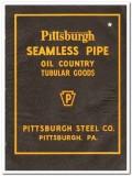 Pittsburgh Steel Company 1944 vintage oil gas catalog oilfield tubular