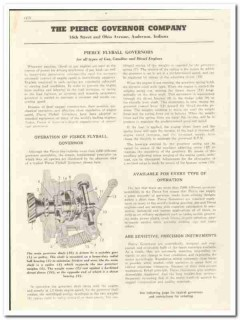 Pierce Governor Company 1944 vintage oil gas catalog oilfield Flyball