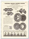 Borg-Warner Corp 1944 vintage oil catalog oilfield Rockford Drilling