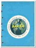 Baker Oil Tools Inc 1963 vintage oil gas catalog oilfield cementing