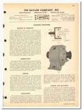 Baylor Company 1963 vintage oil gas catalog oilfield couplings Elmagco
