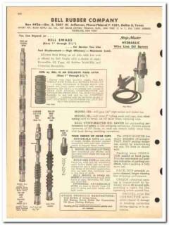Bell Rubber Company 1963 vintage oil gas catalog oilfield Strip-Master
