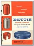 Bettis Rubber Company 1963 vintage oil catalog oilfield protectors