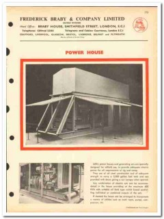 Frederick Braby Company LTD 1963 vintage oil catalog oilfield houses