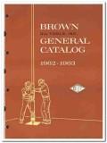 Brown Oil Tools Inc 1963 vintage catalog oilfield production liner