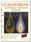 Cameron Iron Works Inc 1963 vintage oil gas catalog oilfield equipment