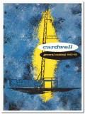 Cardwell Mfg Company 1963 vintage oil gas catalog oilfield hoists mast