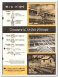 Commercial Iron Works Inc 1963 vintage oil catalog oilfield fittings