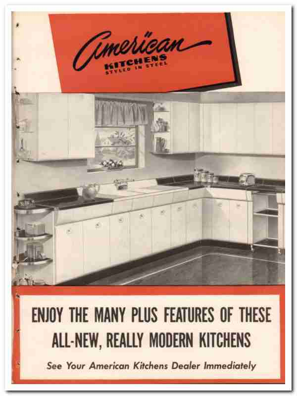 Avco Mfg Corp 1948 Vintage Catalog, American Kitchens Metal Cabinets